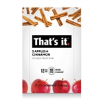 Thats It Fruit Bar Zesty Apple Plus Cinnamon Master Case - 1.2 Oz.