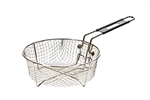 FRY BASKET EASY STOW HANDLE 9 ""