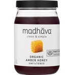 Organic Pure and Raw Honey - 22 Oz.