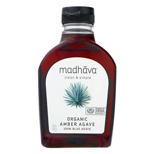 Amber RAW Blue Agave - 23.5 Oz.