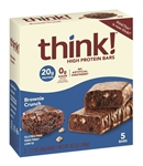 ThinkThin Bars Brownie Crunch