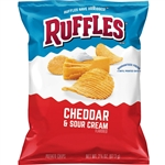 Ruffles Cheddar and Sour Cream - 2.375 Oz.