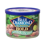 Blue Diamond Bold Wasabi and Soy Sauce Almonds - 6 oz.