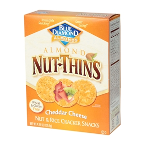 Blue Diamond Nut Cheddar Cheese Cracker - 4.25 oz.