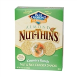 Blue Diamond Nut Thins Country Ranch Cracker - 4.25 oz.