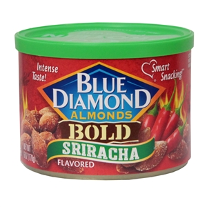 Blue Diamond Sriracha Almonds - 6 Oz.