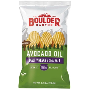 Boulder Canyon Cut Malt and Vinegar Avocado - 5.25 Oz.