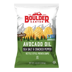 Boulder Avocado Oil Canyon Cut Sea Salt and Cracked Pepper