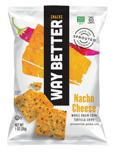 Nacho Cheese Tortilla Chips - 1 Oz.