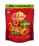 Kennys Peach Gummy Rings - 32 Oz.