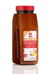 Lawrys Zesty Lemon Pepper Wing Seasoning - 20.75 Oz.