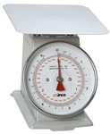 Dial Two Pound Receiving Scale - 6.5 in.