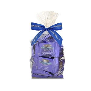 Ghirardelli Squares Bag Dark Chocolate Blueberry - 5.3 Oz.