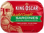 King Oscar Sardines 2-Layer in Extra Virgin Olive Oil - 3.75 Oz.