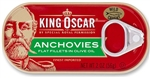 King Oscar Flat Anchovies - 2 Oz.