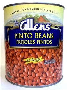 Bean Pinto Canned - 111 oz.
