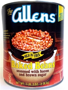 Baked Seasoned Navy with Bacon and Brown Sugar Canned Bean - 115 Oz.