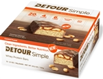 Detour Whey Protein Simple Caramel Peanut Bar - 60 Grm.