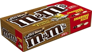 M and Ms Coffee Nut Sharing Size  - 3.27 Oz.
