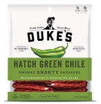 Dukes Hatch Green Chile Smoked Shorty Sausage Case