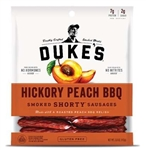 Dukes Hickory Peach Bar-B-Q Shorty Smoked Sausages - 5 Oz.