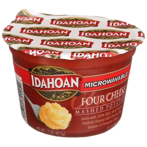Idahoan Four Cheese Mashed Cup - 1.5 Oz.