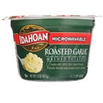 Idahoan Roasted Garlic Mashed Potato Cup - 1.5 Oz.