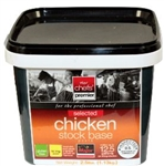 Chicken Base Selected Major Chefs Premier No MSG Added - 2.5 Lb.