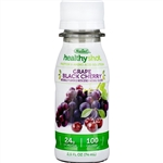 Healthy Shot Double Protein Grape Black Cherry - 2.5 oz.