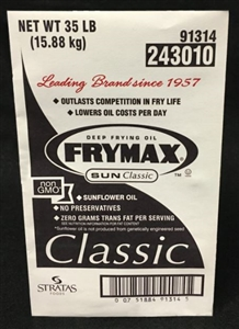 Frymax Sunflower Frying Oil