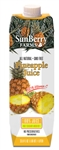 Sunberry Farms Pineapple Juice 100 Percentage - 33.8 Fl. Oz.