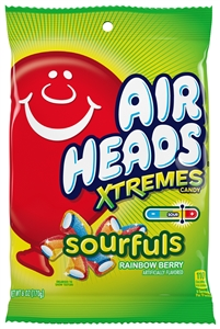 Airheads Xtremes Sourfuls Rainbow Berry Candy - 6 Oz.