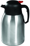 Stainless Steel Lined Insulated Carafe Push Button  - 2 Ltr.