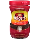 Folgers Classic Roast Instant Coffee Crystals - 8 Oz.