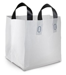 Soft Tote Small Bag White - 19 in. x 10 in. x 9 in.