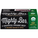 Organic Beef Mighty Bar Bacon and Apple OP Fsh - 1 Oz.