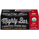 Organic Beef Mighty Bar Cranberry and Sunflower Seeds OP Fsh - 1 Oz.