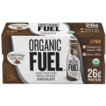Milk UHT Protein Shake Organic Fuel Chocolate - 11 Oz.