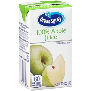 100 Percentage Apple Juice - 4.2 Oz.