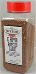 12 Pepper Roasted Garlic Seasoning Blend Shelf Stable Spice - 20 Oz.