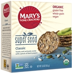 Organic Whole Grain Super Seed Flavored Crackers Gluten Free - 5.5 Oz.