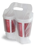 Drink Carrier Bag - 12.5 in. x 12.5 in. x 2.25 in.