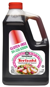 50 Percentage Less GF Teriyaki Sauce - 0.5 Gal.