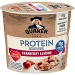 Instant Quaker Oatmeal Express Cup Cranberry Almond - 2.18 Oz.