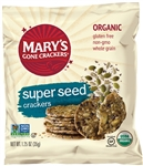 Gluten-Free Organic Super Seed Crackers - 1.25 Oz.