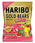 Haribo Gummi Candy Watermelon Gold Bears - 4 Oz.