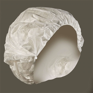 Bouffant Cap White Hand Tied