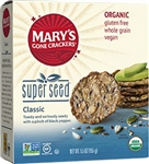 Gluten-Free Super Seed Everything Flavor Organic Crackers - 5.5 Oz.