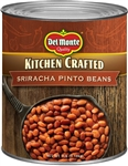 Kitchen Crafted Canned Sriracha Pinto Beans - 112 Oz.