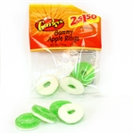 Gummy Apple Rings - 2.75 Oz.